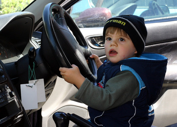 Child Driving - Learn to drive before 17